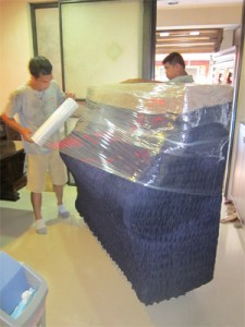 5. Plastic wrap to dry seal